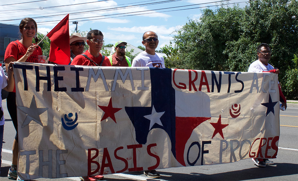Workers Defense Project on the march