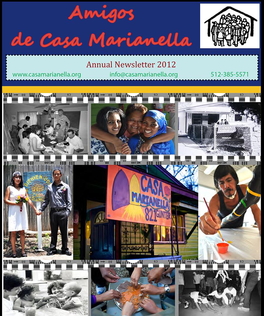 casa marianella 2012 newsletter