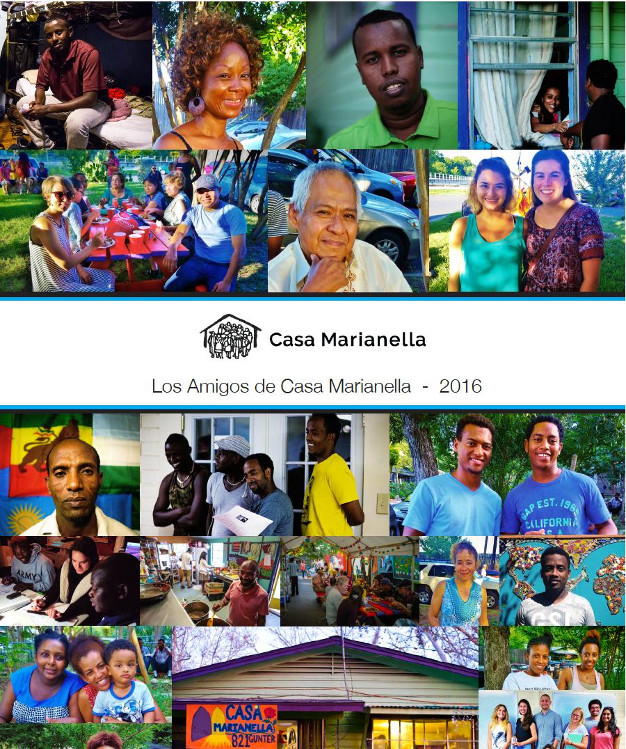 casa marianella 2016 annual print newsletter